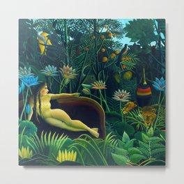 "Henri Rousseau ""The Dream"" Metal Print"
