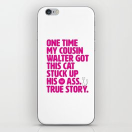 Opening Lines - Mallrats iPhone Skin