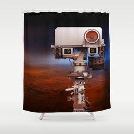 Mars Curiosity NASA Shower Curtain