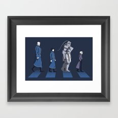 Central Road Framed Art Print