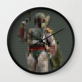 Fett - bounty hunter - Legobricks Wall Clock