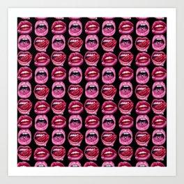 Kisses Galore Art Print