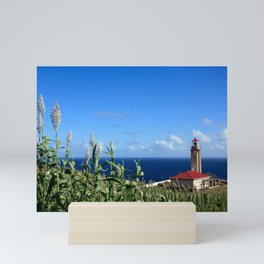 Ponta Garça lighthouse Mini Art Print