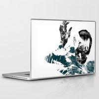 tokyo ghoul Laptop & iPad Skins featuring Ghoul  by Bloodstone Prints