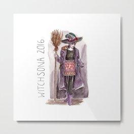 Witchsona 2016 Metal Print