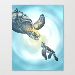 Mama? Canvas Print