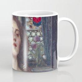 Gather Ye Rosebuds While Ye May by John William Waterhouse Coffee Mug