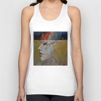 queen Tank Tops featuring Queen by Michael Creese