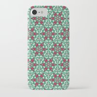 honeycomb iPhone & iPod Cases featuring Honeycomb by Paula Belle Flores