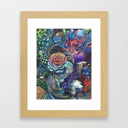 7eme dimension  Framed Art Print