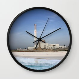 Tel Aviv photo - Reading power station Wall Clock