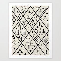 Desert Quest Art Print