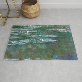 Water Lilies Claude Monet 1904 Rug