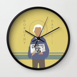 Dorothy Day Wall Clock