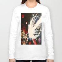 dbz Long Sleeve T-shirts featuring DBZ Galaxy by DrewzDesignz