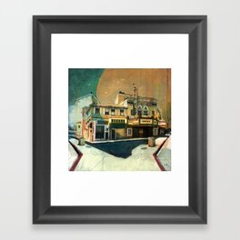 Rialto, Your Name In Lights Framed Art Print