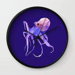 Octopus. Wall Clock