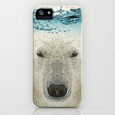 bear line iPhone (5, 5s) Slim Case