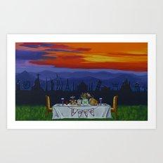 The Love Feast Art Print