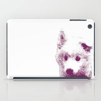 puppy iPad Cases featuring Puppy by Deliratio
