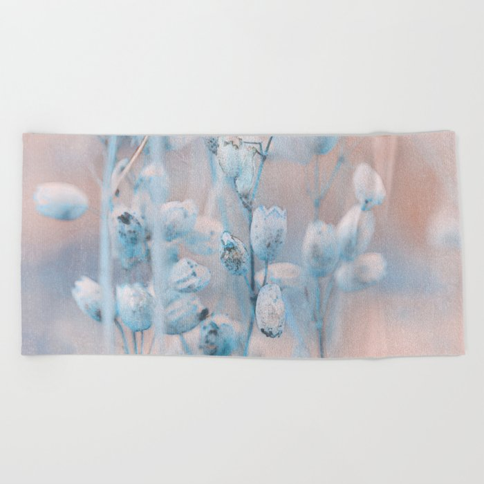 Wild flowers (winter) Beach Towel
