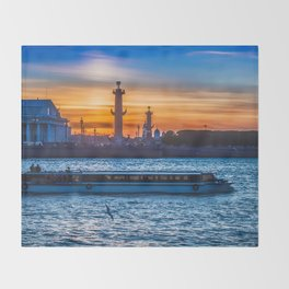 Saint Petersburg Throw Blanket