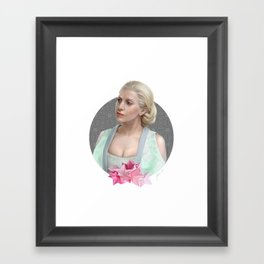 Artpop queen Framed Art Print