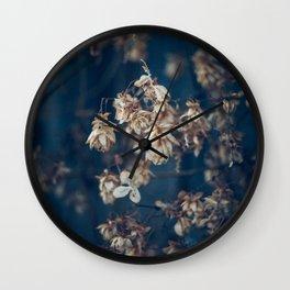 hops pattern Wall Clock