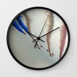 Straight lines Wall Clock