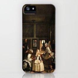 Diego Velazquez - Las Meninas iPhone Case