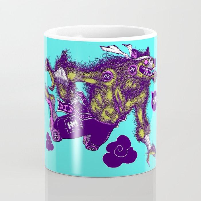 Sky High Wolf Coffee Mug