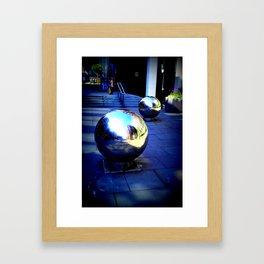 NEAR ST PAULS LONDON 2015 Framed Art Print