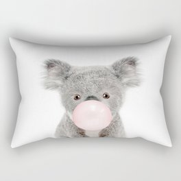 Bubble Gum Baby Koala Rectangular Pillow