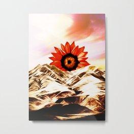 Good morning sun Metal Print