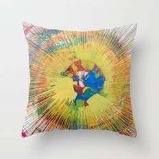 645rpm Throw Pillow