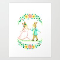 wedding Art Prints featuring wedding by NAO | NAO WORKS