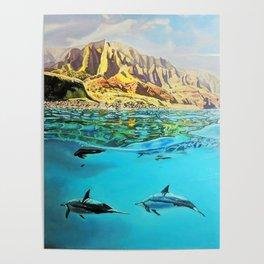 view of Kauai, HI Poster