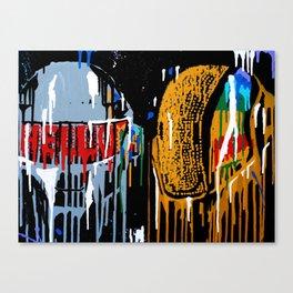 Daft Drip Canvas Print