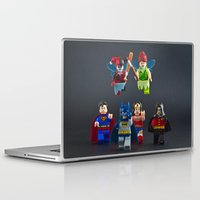fairies Laptop & iPad Skins featuring Scary Fairies by InkBlot