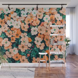 Floral Bliss #photography #nature Wall Mural