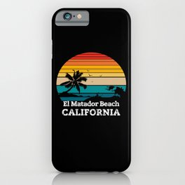 El Matador State Beach CALIFORNIA iPhone Case