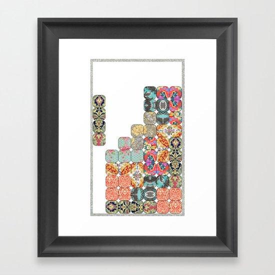 TETRIS Framed Art Print