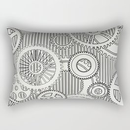 Stark Gears Rectangular Pillow