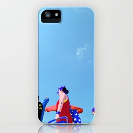 Super...on the beach iPhone Case