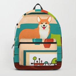 A Corgi Makes A House A Home Backpack