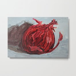 red onion Metal Print