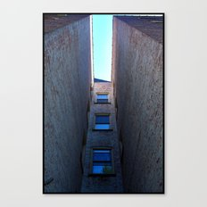 Coming Home Through the Back Door Canvas Print