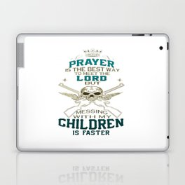 Mess With My Children Laptop & iPad Skin
