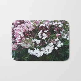 Beautiful Jasmine Flowers In Full Bloom  Bath Mat