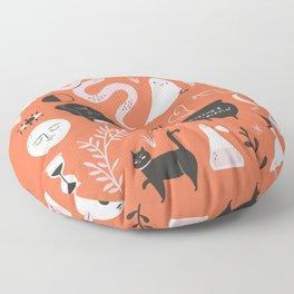 Halloween Pattern Floor Pillow